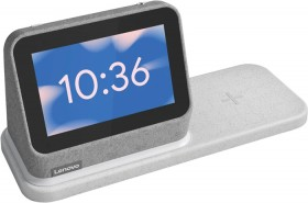 Lenovo-Smart-Clock-with-Wireless-Dock-Grey on sale