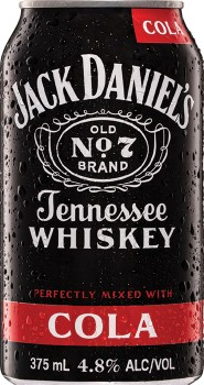 Jack-Daniels-Cola-48-Premix-Cans-375mL-10-Pack on sale