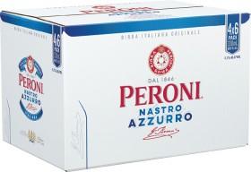 Peroni-Nastro-Azzurro-Stubbies-330mL-24-Pack on sale