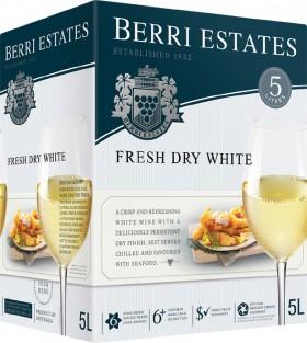 Berri-Estates-5L-Cask-Range-5-Litres on sale