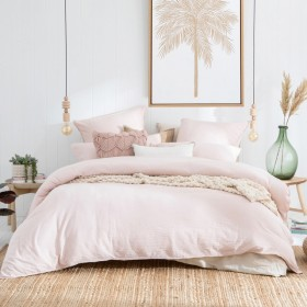 Java-Blush-Washed-Quilt-Cover-Set-by-Habitat on sale