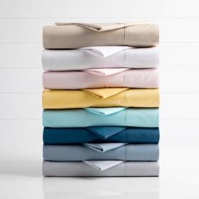 250-Thread-Count-Plain-Dye-Sheet-Set-by-Habitat on sale