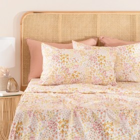 Flower-Patch-Printed-Cotton-Sheet-Set-by-Habitat on sale