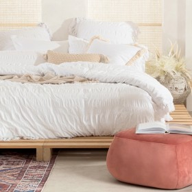 Chiara-White-Quilt-Cover-Set-by-Habitat on sale