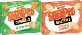 Arnotts-Shapes-Crackers-160g-190g on sale