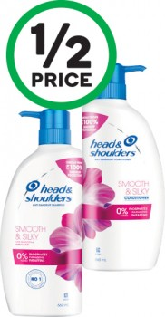 Head-Shoulders-Shampoo-or-Conditioner-660ml on sale