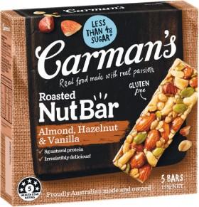 Carmans-Muesli-and-Nut-Bars-160-270g-Pk-56 on sale
