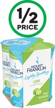 Mount-Franklin-Lightly-Sparkling-Varieties-4-x-250ml on sale