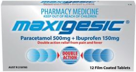 Maxigesic-12-Tablets on sale