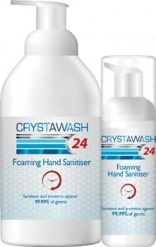 20-off-Crystawash-24-Foaming-Hand-Sanitiser-Range on sale