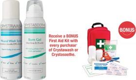 Crystawash-Wound-Wash-Spray-or-Crystasoothe-Burn-Gel-100mL on sale