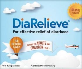DiaRelieve-10-x-325g-Sachets on sale