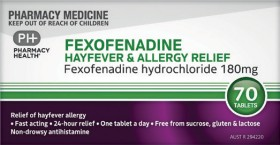 Pharmacy-Health-Fexofenadine-Hayfever-Allergy-Relief-70-Tablets on sale