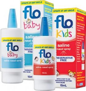 Flo-Baby-or-Kids-Saline-Nasal-Spray-15mL on sale