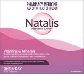 Natalis-Pregnancy-Support-100-Tablets on sale