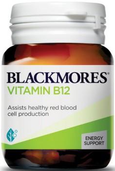 Blackmores-Vitamin-B12-75-Tablets on sale