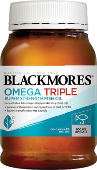 Blackmores-Omega-Triple-Super-Strength-Fish-Oil-150-Capsules on sale