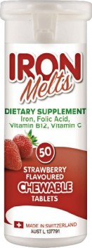 Iron-Melts-50-Chewable-Tablets on sale
