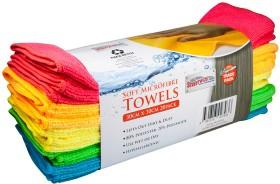 Streetwize-20-Piece-Soft-Microfibre-Towels-Pack on sale
