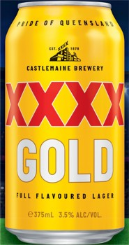 XXXX-Gold-30-Can-Block on sale