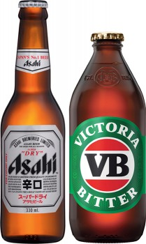 Asahi-Super-Dry-or-Victoria-Bitter-24-Pack on sale