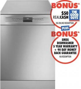Smeg-60cm-Freestanding-Dishwasher on sale