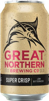 Great-Northern-Super-Crisp-Block-Cans-375mL-30-Pack on sale