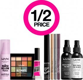 12-Price-on-Entire-NYX-Professional-Makeup-Range on sale