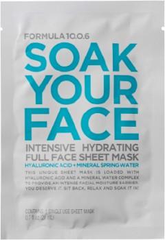 Formula-1006-Soak-Your-Face-Hydrating-Sheet-Mask-1ea on sale