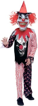 Clown-Costume-Ages-6-8 on sale