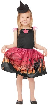 Witch-Costume-Ages-4-6 on sale