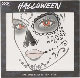 OXX-Halloween-Face-Tattoo-Skull on sale