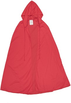 Adult-Hooded-Cape-Red on sale