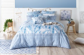 NEW-Ombre-Home-Weathered-Coastal-Quilt-Cover-Set on sale