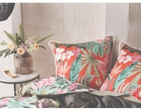 40-off-Linen-House-Tropical-Getaway-European-Pillowcase on sale