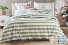Koo-Mia-Stripe-Quilt-Cover-Set on sale