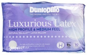 40-off-Dunlopillo-Luxurious-Latex-High-Profile-Medium-Feel-Pillow on sale