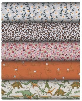Print-Plain-Cotton-Jersey on sale