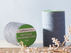 30-off-Crafters-Choice-Recycled-Green-Label-Macram-Cord-50m-Single-Colour on sale