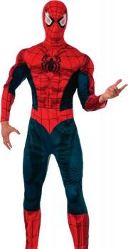 Adult-Spiderman-Costume on sale