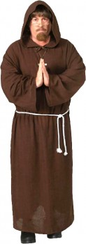 Spartys-Adult-Monk-Costume on sale