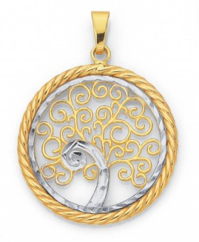 9ct-Gold-Tree-of-Life-Pendant on sale