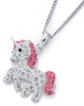 Sterling-Silver-Unicorn-Pendant on sale