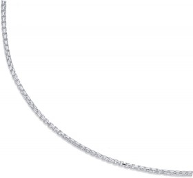 Sterling-Silver-50cm-Octagonal-Box-Chain on sale