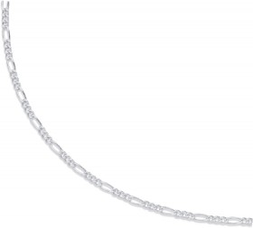 Sterling-Silver-50cm-Figaro-Chain on sale