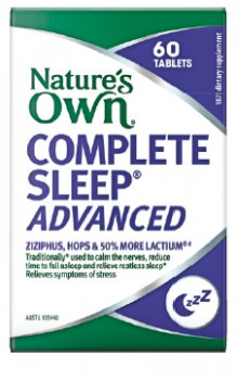 Natures-Own-Complete-Sleep-Advanced-60-Tablets on sale