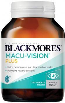 Blackmores-Macu-Vision-Plus-120-Tablets on sale