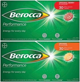 Berocca-Performance-30-Effervescent-Tablets-Range on sale