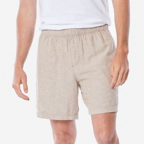 Linen-Blend-Volley-Short on sale