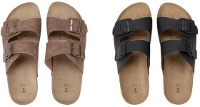 Double-Buckle-Sandals on sale